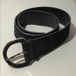 Ralph Lauren Collection Suede Belt NWOT